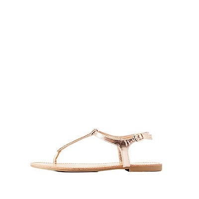 Beaded Thong Sandals