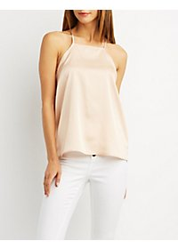 Bib Neck Tank Top