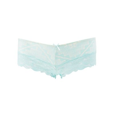 Cotton & Lace Cheeky Panties