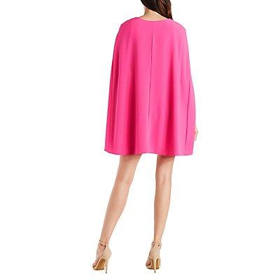 Bodycon Cape Dress
