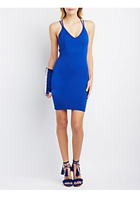 The Vintage Shop Strappy Bodycon Dress