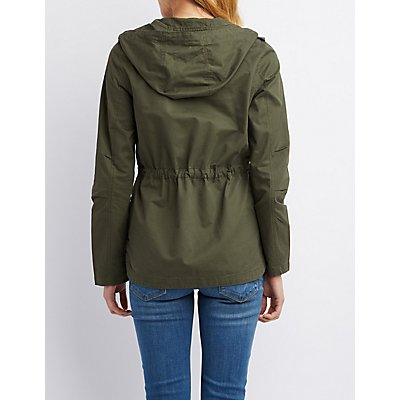 Cargo Pocket Anorak Jacket
