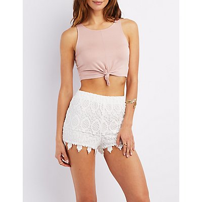 Knot Front Cropped Tank