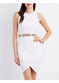Bodycon O-Ring Cut-Out Dress