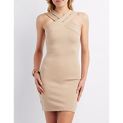 Strappy Sleeveless Bodycon Dress