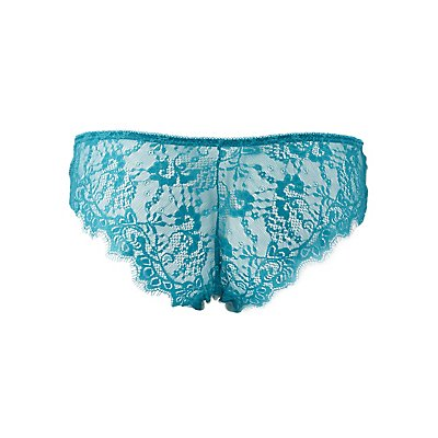 Lace Back Cheeky Panties