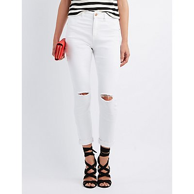 Refuge Hi-Rise Skinny High-Waisted Jeans