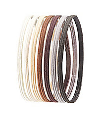 Assorted Color Headbands - 7 Pack