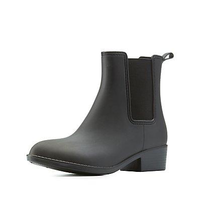 Rubber Chelsea Rainboots
