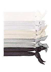 Assorted Color Hair Ties - 10 Pack
