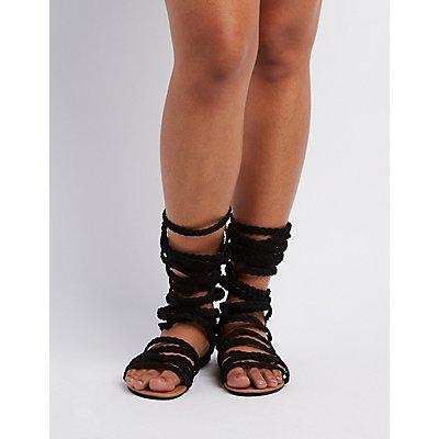 Wide Width & Calf Gladiator Sandals