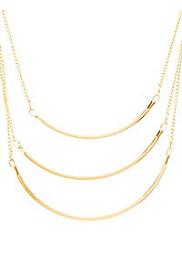 Arcs Layered Necklace