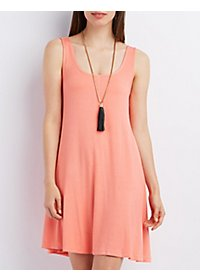 Sleeveless Swing Tank Dress