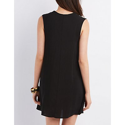 Jella C Sleeveless Shift Dress