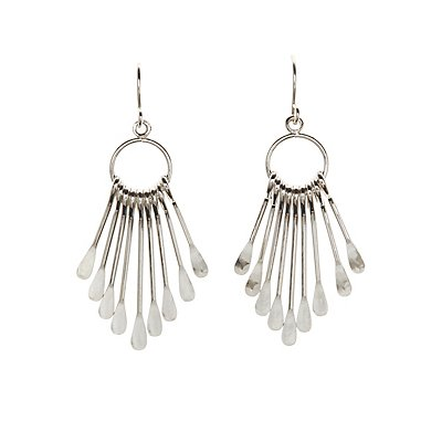 Paddle Charm Drop Earrings