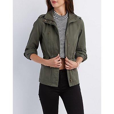 Zip-Up Anorak Jacket