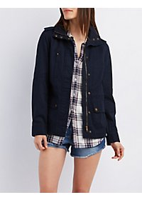 Zip-Up Anorak Jacket