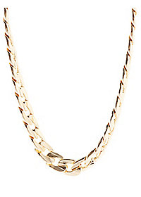 Chunky Chain Bib Necklace
