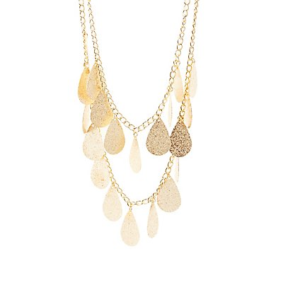 Teardrop Layered Necklace
