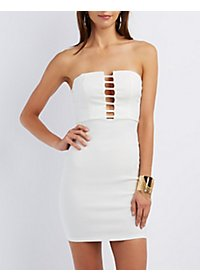 The Vintage Shop Strapless Bodycon Dress