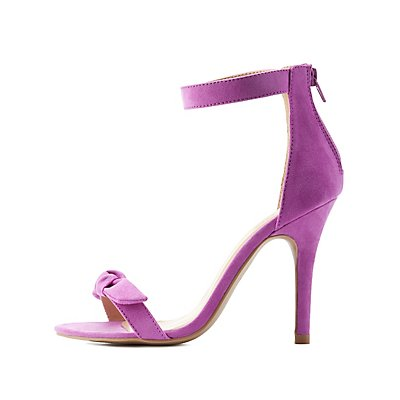 Knotted Two-Piece Dress Sandals