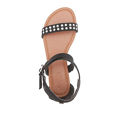 Studded Two-Piece Sandals