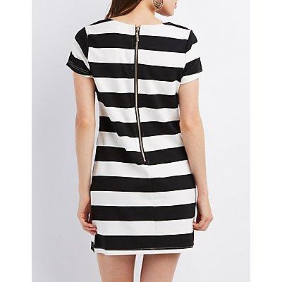 Striped Shift Dress