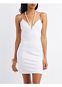 Strappy Sleeveless Bodycon Dress