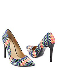 GX by Gwen Stefani Printed Pointed Toe Pumps