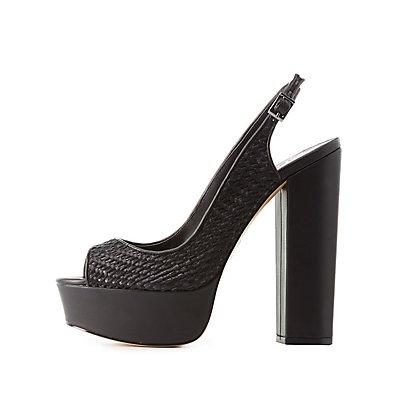 GX By Gwen Stefani Slingback Platform Sandals