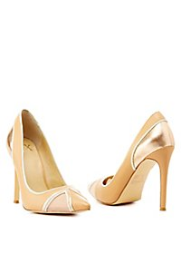 GX by Gwen Stefani Metallic Pointed Toe Pumps
