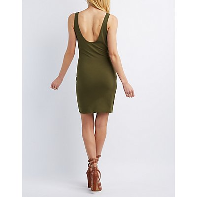 Low Back Bodycon Dress
