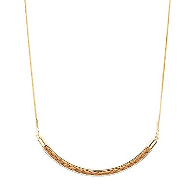 Braided Arc Necklace