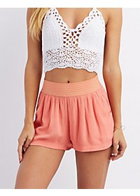 Gauzy Pocket Shorts