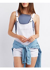 Chiqle Denim Shortalls