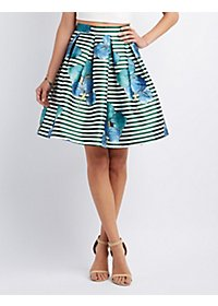 The Vintage Shop Pleated Full Midi Skirt