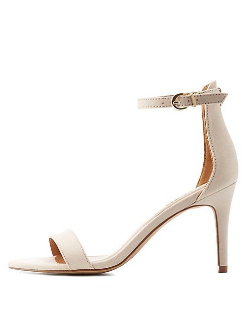 Two-Piece Dress Sandals | Charlotte Russe