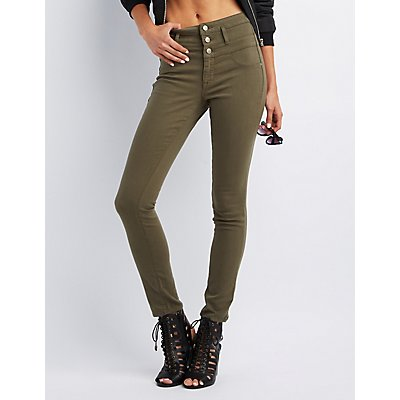Refuge Hi-Waist Skinny Denim Jeans