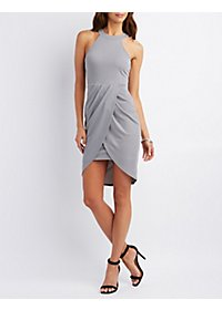 Tulip Hem Bodycon Dress