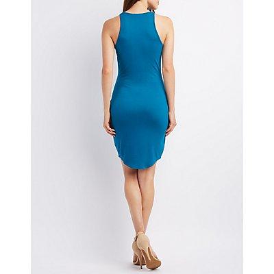 Sleeveless Scoop Neck Dress