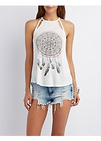 Bling Graphic Tank Top