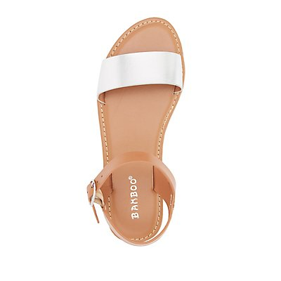 Bamboo Two-Piece Sandals