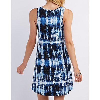 Tie-Dye Shift Dress