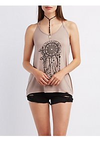 Strappy Dreamcatcher Tank