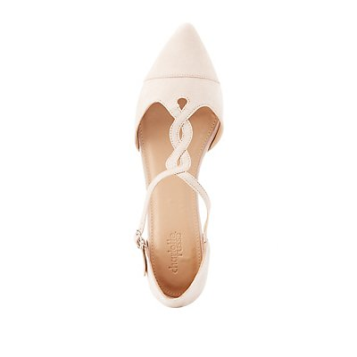 Pointed Toe Braided Flats