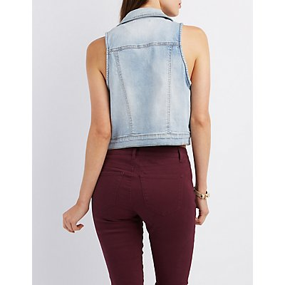 Refuge Denim Americana Vest