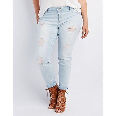 Plus Size Refuge Skin Tight LeggingJeans