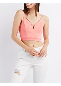 Strappy Caged Crop Top
