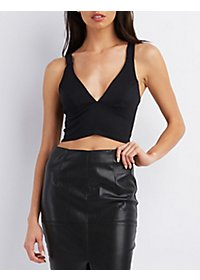 Zip-Back Millennium Crop Top