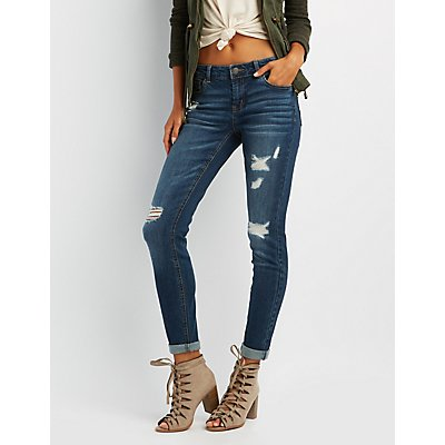 Refuge Boyfriend Destroyed Jeans